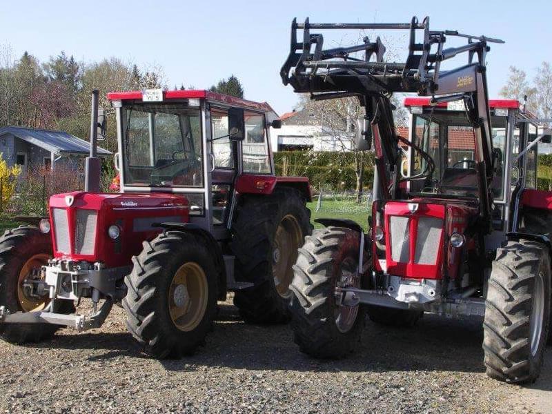 Traktorenlackierungen