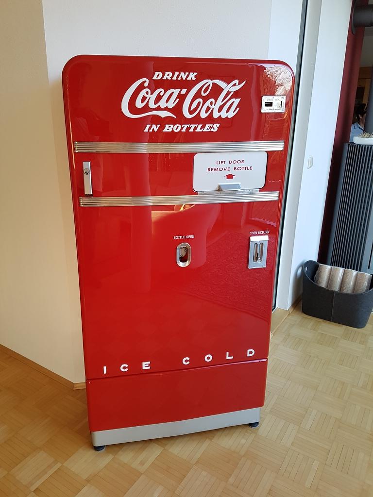 Retro Automat CocaCola